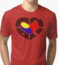 Korean Flag 4.0 Tri-blend T-Shirt
