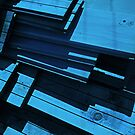 Blue wood by Bluesrose