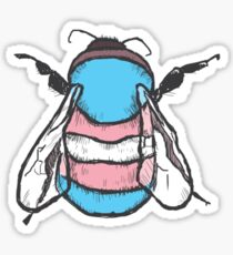 Transgender Bee Sticker
