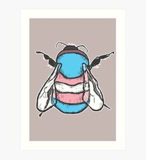 Transgender Bee Art Print