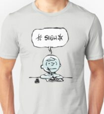 Charlie Brown *sigh*  Unisex T-Shirt
