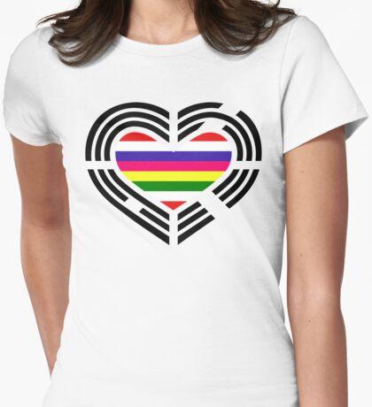Korean Patriot Flag Series (Heart) T-Shirt