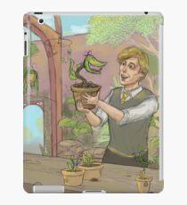 Newt Scamander- hufflepuff iPad Case/Skin
