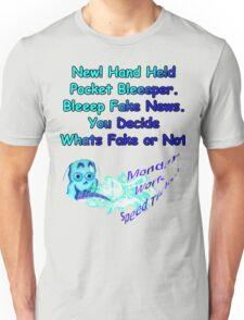 Funny T Shirt Fake News Bleeeper Unisex T-Shirt