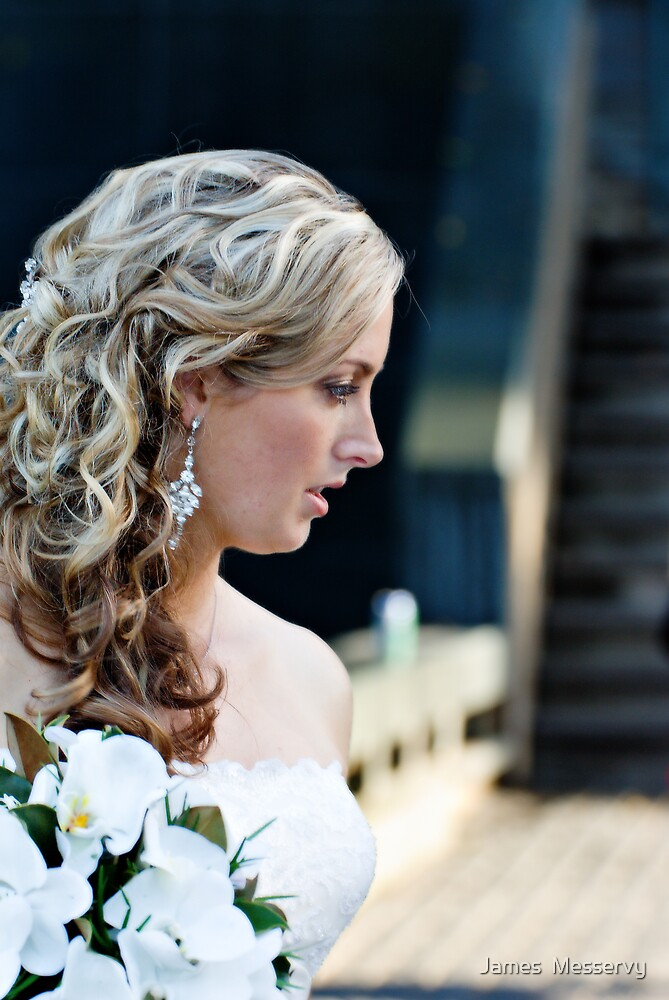 Bridal Candid by James  Messervy