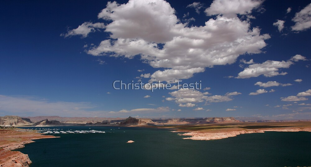 Lake Powell by Christophe Testi
