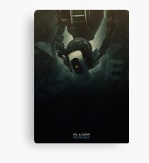 Heroes of Gaming - GlaDOS Canvas Print