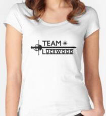 Team Lucewood Women's Fitted Scoop T-Shirt