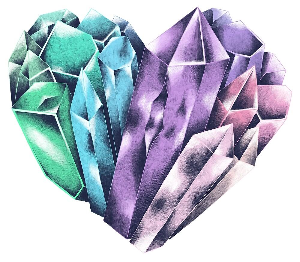 Crystal Heart von skrich