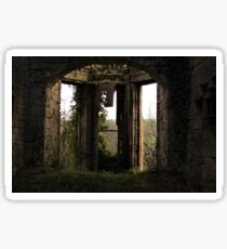 Old Abandoned Priory Sticker