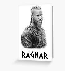 RAGNAR VIKINGS Greeting Card