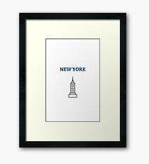 NEW YORK EMPIRE STATE BUILDING Framed Print