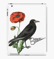 Crow & Scissors  iPad Case/Skin