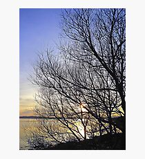 Late March Sunset On Inch Island...........................Ireland Photographic Print