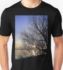 Late March Sunset On Inch Island...........................Ireland Unisex T-Shirt