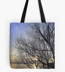 Late March Sunset On Inch Island...........................Ireland Tote Bag