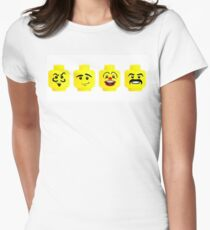 Lego fun Womens Fitted T-Shirt