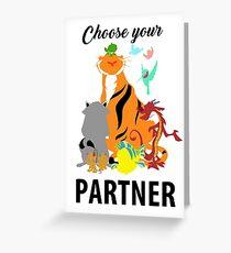 PARTNER Greeting Card