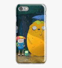 Adventure time My neighbor totoro  iPhone Case/Skin