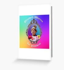 save us lizzie Greeting Card