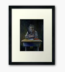 Student with a Rifle (2000) Framed Print