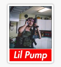 Lil Pump Picture 1 Sticker