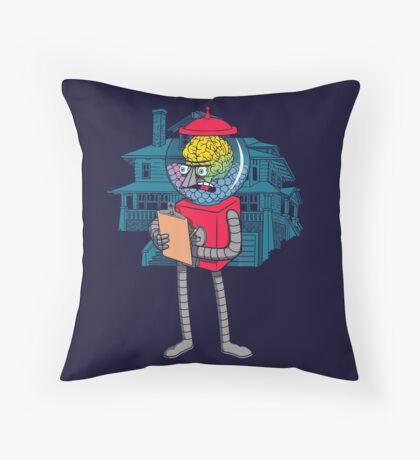 The Boss. Throw Pillow