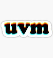 UVM Glitch Sticker