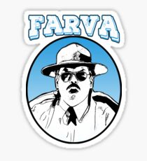 Farva - super troopers Sticker