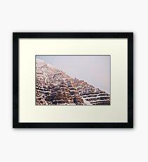 Moutains Framed Print