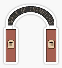 Walk of Champions - University of Mississippi Sticker