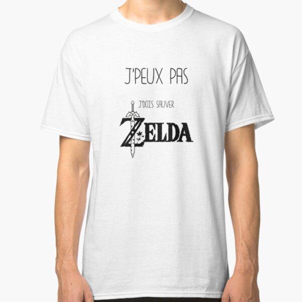 J'peux pas j'dois sauver Zelda T-shirt classique