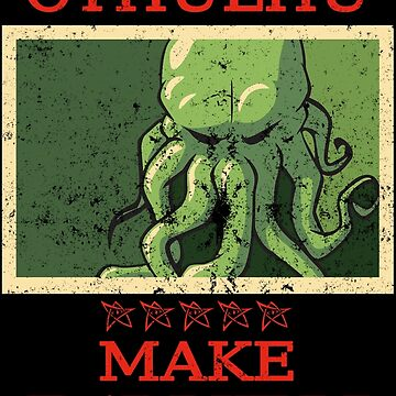 Vote Cthulhu by Eagle-Fly-Free