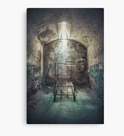 Solitude Of Confinement Canvas Print