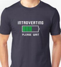 Funny Introvert Pun Humor  Unisex T-Shirt