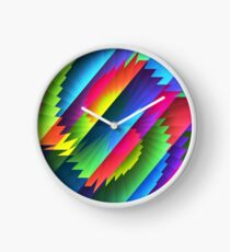 Color Blast Clock