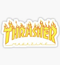 Thrasher Flame - Skateboard Magazine Stickers Sticker