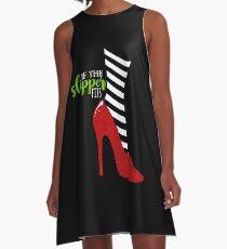If the Slipper Fits A-Line Dress