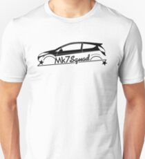Mk7 Squad for Ford Fiesta Mk7 ST enthusiasts Unisex T-Shirt
