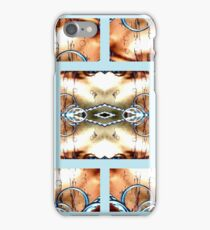 Crossing Wires with Rings at the Bottom of the Ocean iPhone Case/Skin
