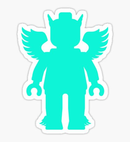 WINGED GREEK GOD Sticker