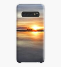 Arran Reflecting Sunset 1 Case/Skin for Samsung Galaxy