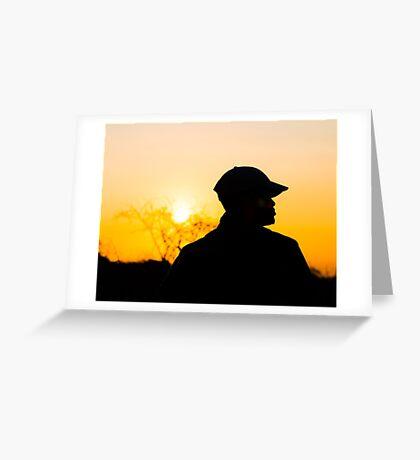 Zulu dusk Greeting Card