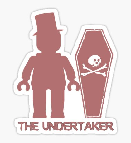 THE UNDERTAKER  Sticker