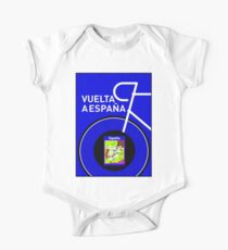VUELTA A ESPANA: Spanish Bike Racing Print One Piece - Short Sleeve