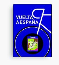 VUELTA A ESPANA: Spanish Bike Racing Print Canvas Print
