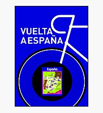 VUELTA A ESPANA: Spanish Bike Racing Print Photographic Print