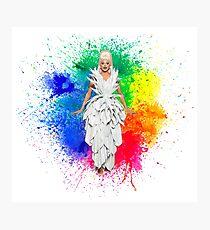 RuPaul - Rainbow Queen Photographic Print