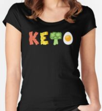 ConeCandy: 4 Pillars of Keto Women's Fitted Scoop T-Shirt