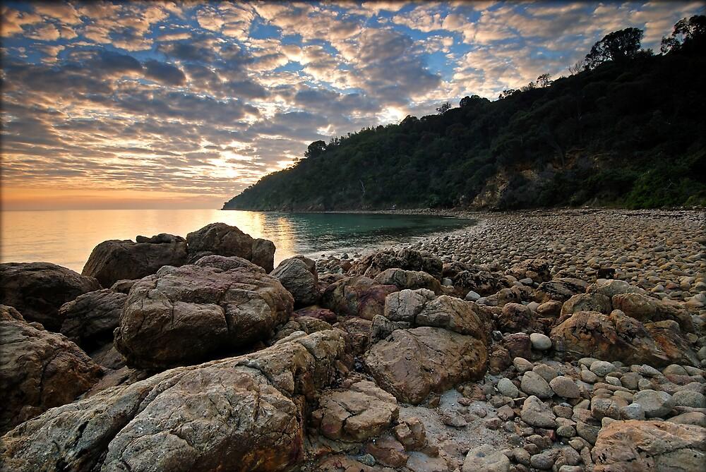 Pebble Beach by Robert Mullner